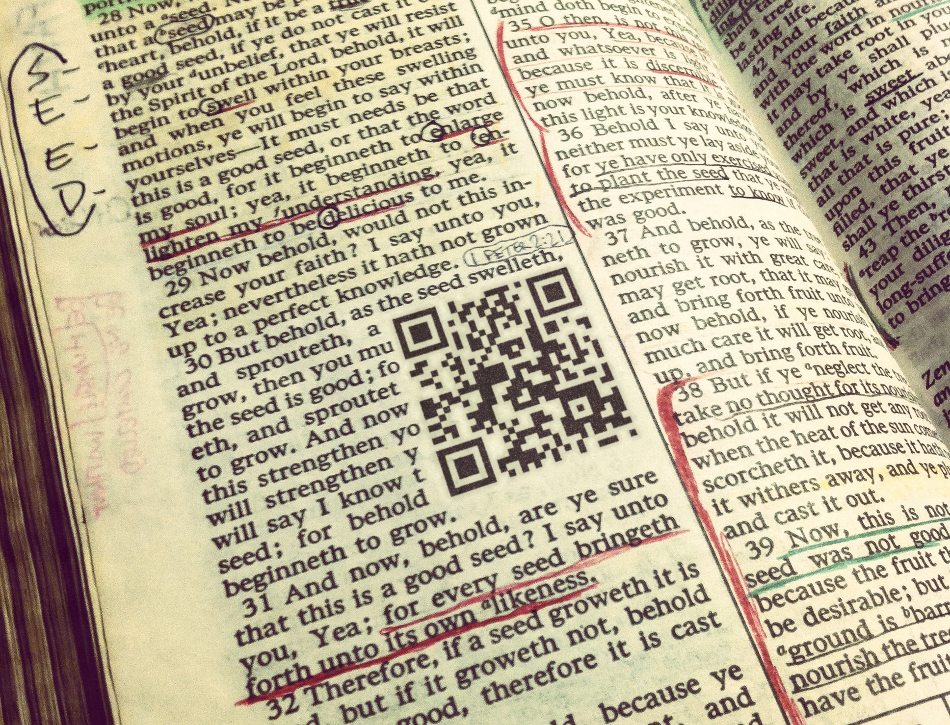Of Parables Symbols And Qr Codes Oneclimbs