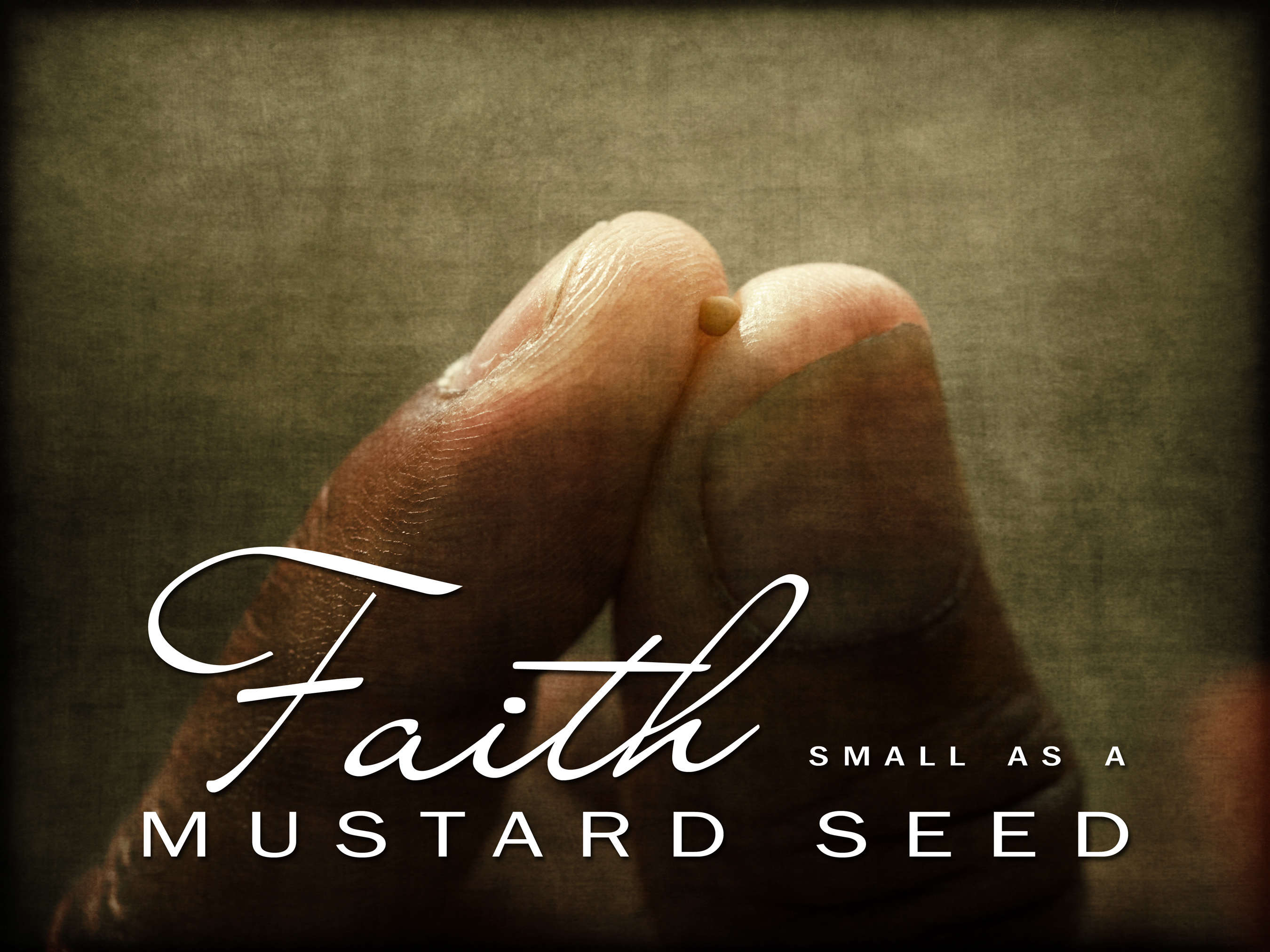 The size of your faith is not the issue… « oneClimbs.com